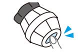 (3)底面に両面テープを貼る